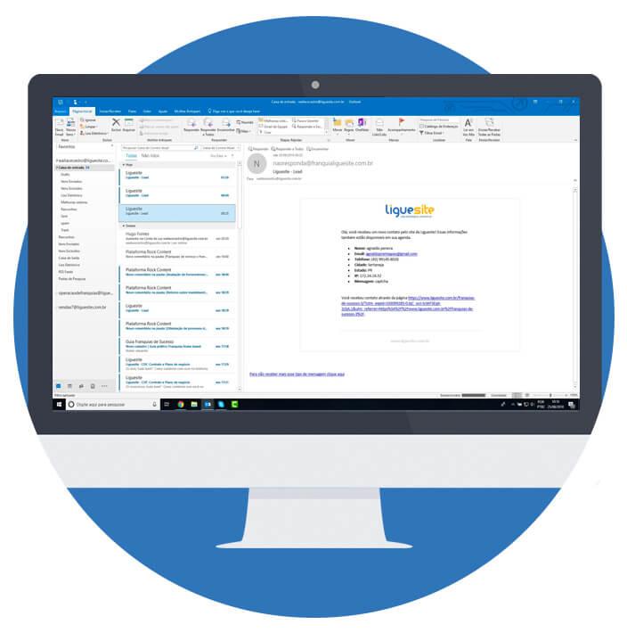 criar email profissional