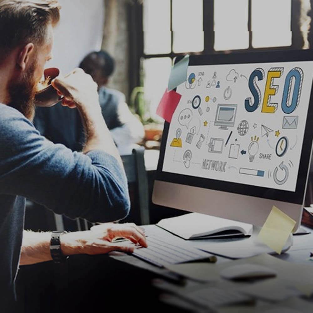 Criação de sites com otimização SEO